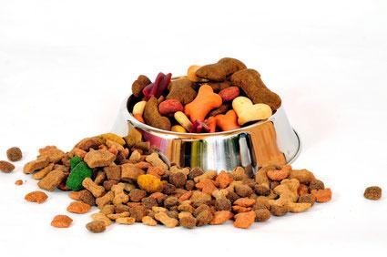 Trockenfutter als Alleinfuttermittel