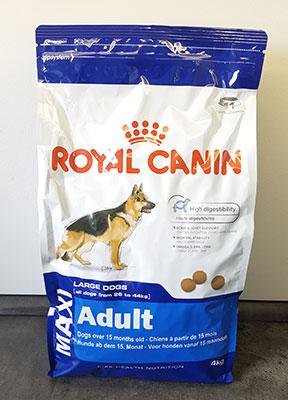 royal canin maxi adult trockenfutter im hundefutter test. Black Bedroom Furniture Sets. Home Design Ideas