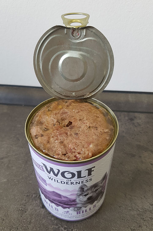 Dose von Wolf of Wilderness Junior